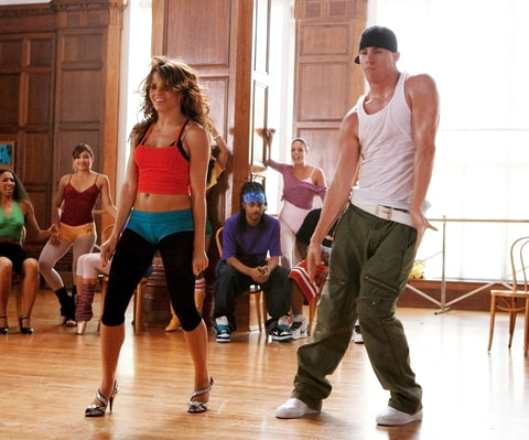 Jenna Dewan and Channing Tatum in Step Up