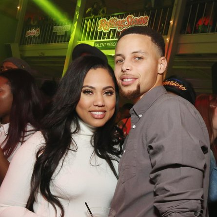 Ayesha Curry and her husband Steph