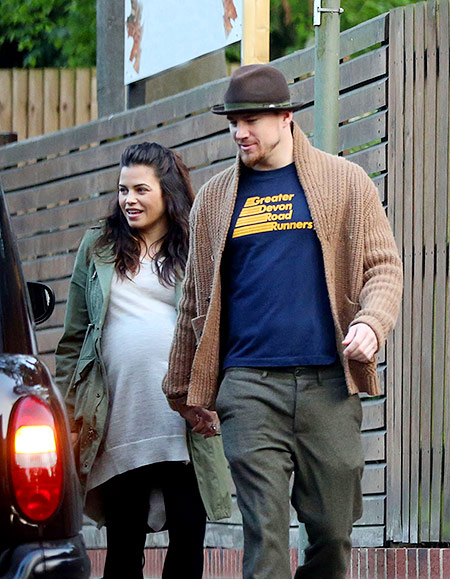 Jenna Dewan pregnant and Channing Tatum
