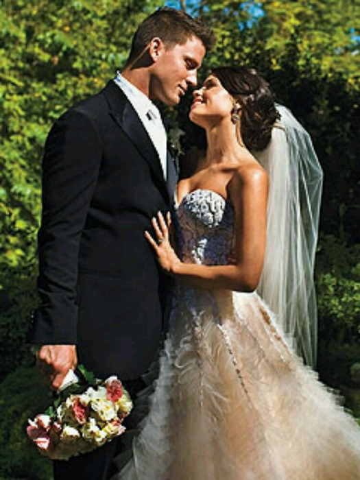 Channing Tatum and Jenna Dewan Wedding