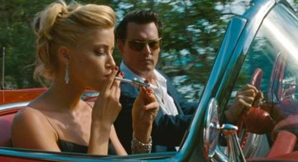Amber Heard and Johnny Depp in Rum Diaries