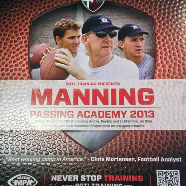 Manning Passing Academy as Archie Manning's business project