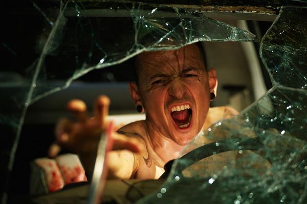 Chester Bennington in Saw 3D movie