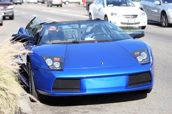 Ciara car Lamborghini