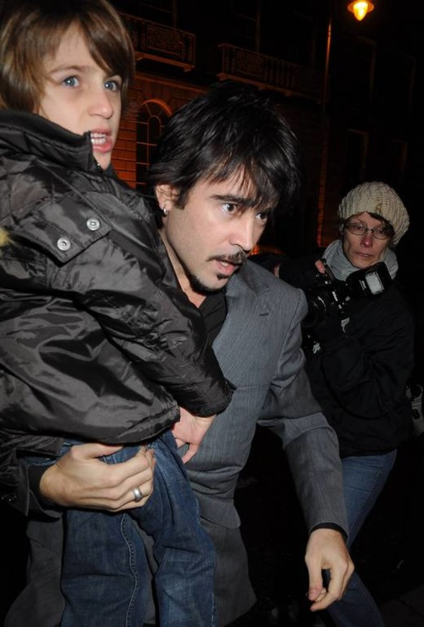 Colin Farrell elder son with special needs James