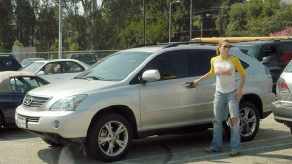Jessica Biel Car