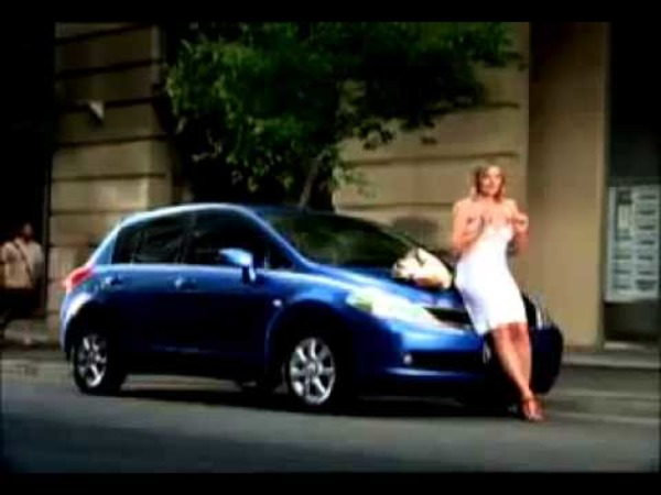 Kim Cattrall in Nissan commercial