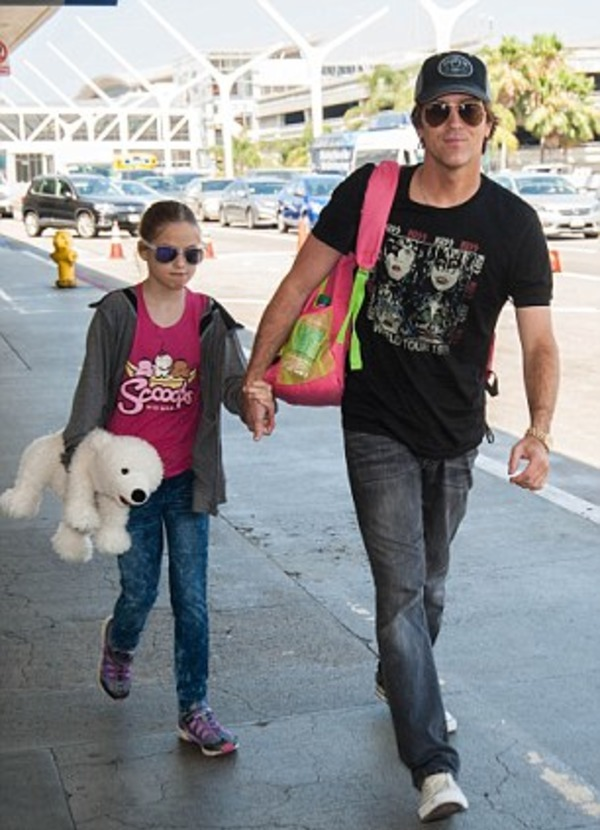 Larry Birkhead and his daughter Dannielynn Hope Marshall Birkhead