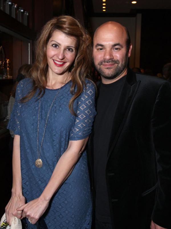 Nia Vardalos and her husband Ian Gomez