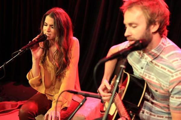 Nikki Reed sings with her ex Paul McDonald