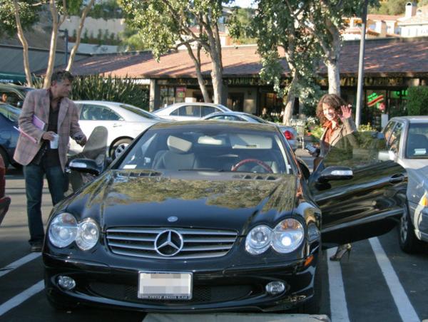 Paula Abdul car