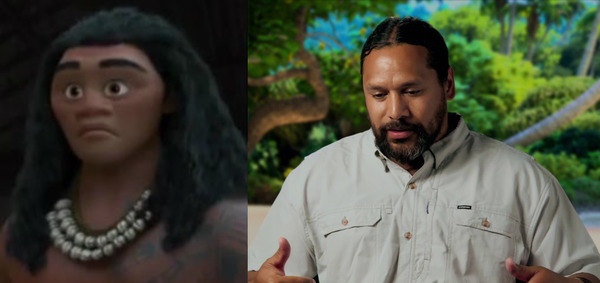 Troy Polamalu is doing a voice work for Moana