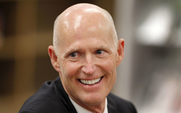 How rich is Rick Scott?