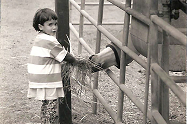 Nikki Reed in her early years