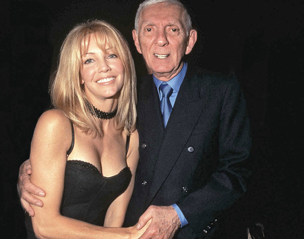 Aaron Spelling and Heather Locklear