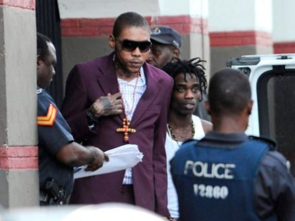 Vybz Kartel in the court