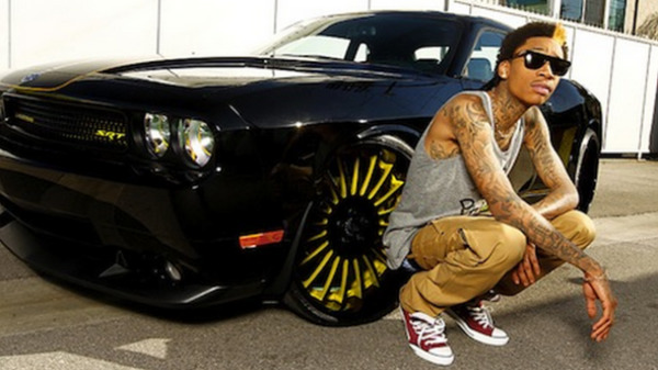 Wiz Khalifa car