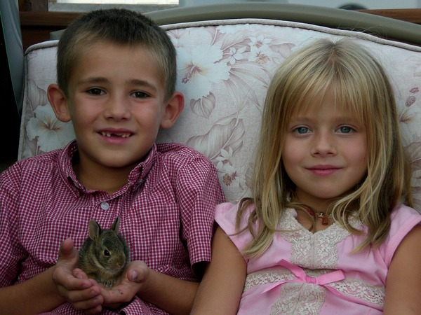Jackie Evancho and her brother Jacob (turned Juliet) Evancho