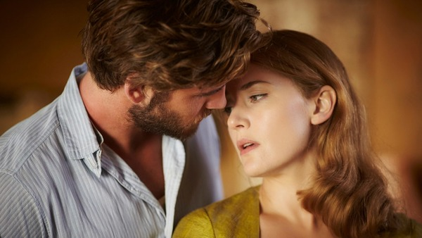 """Liam Hemsworth and Kate Winslet in """"The Dressmaker"""""""