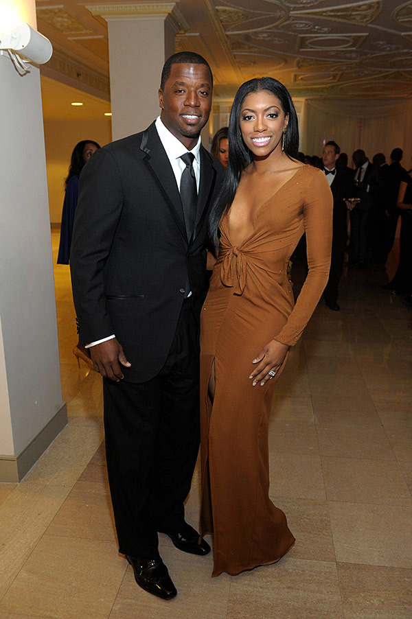Porsha Williams and her ex-husband Kordell Stewart