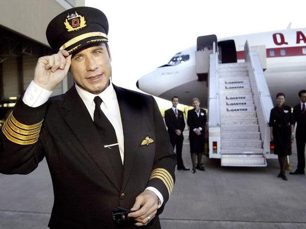 John Travolta's jet