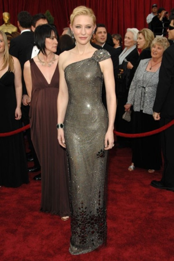 Cate Blanchett Armani dress