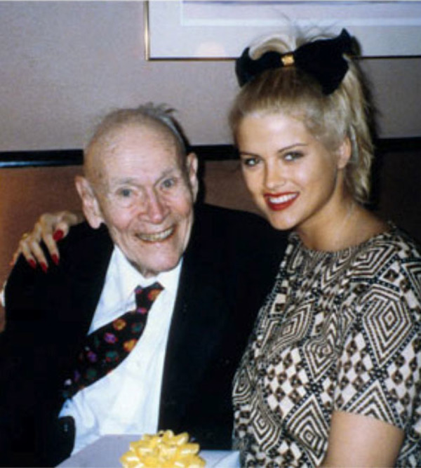 Anna Nicole Smith and James Howard Marshall II