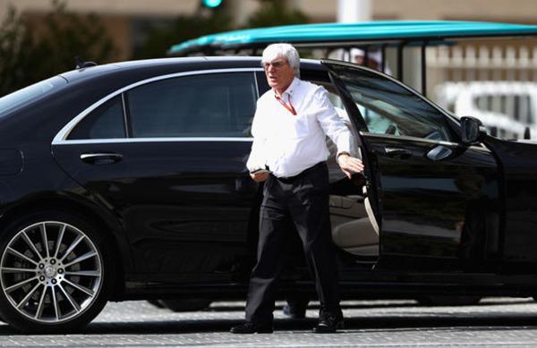 Bernie Ecclestone car