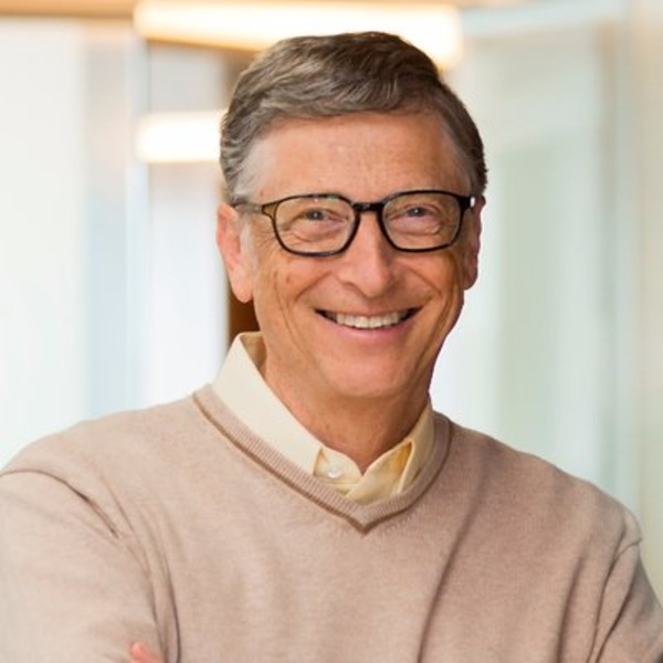 Bill Gates collection of books