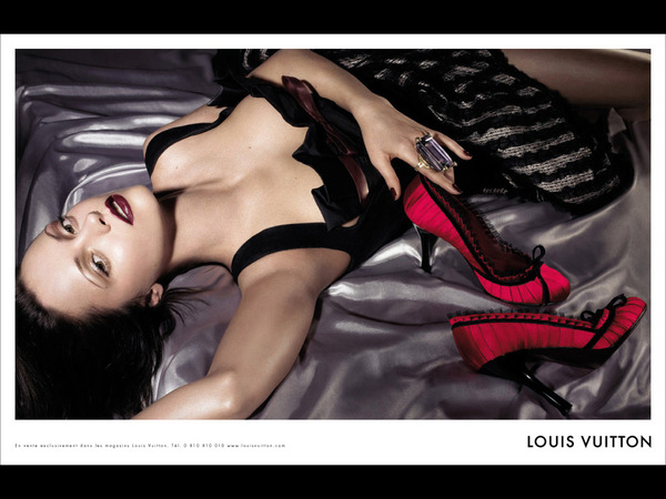 Christina Ricci in LV ads