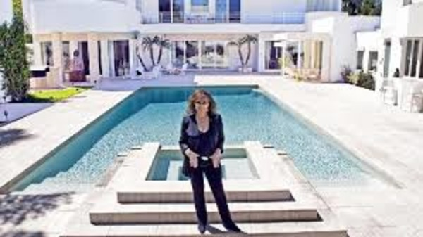 Jackie Collins house