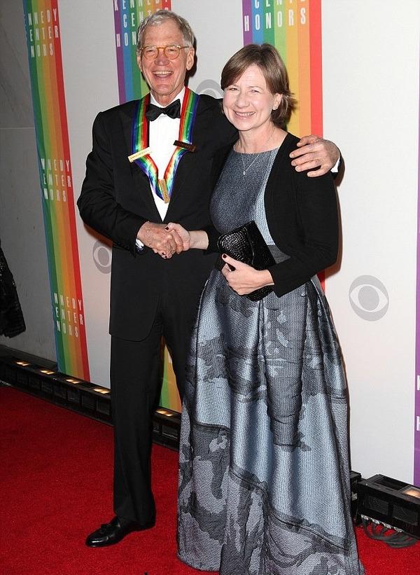 David Letterman and his wife Regina Lasko