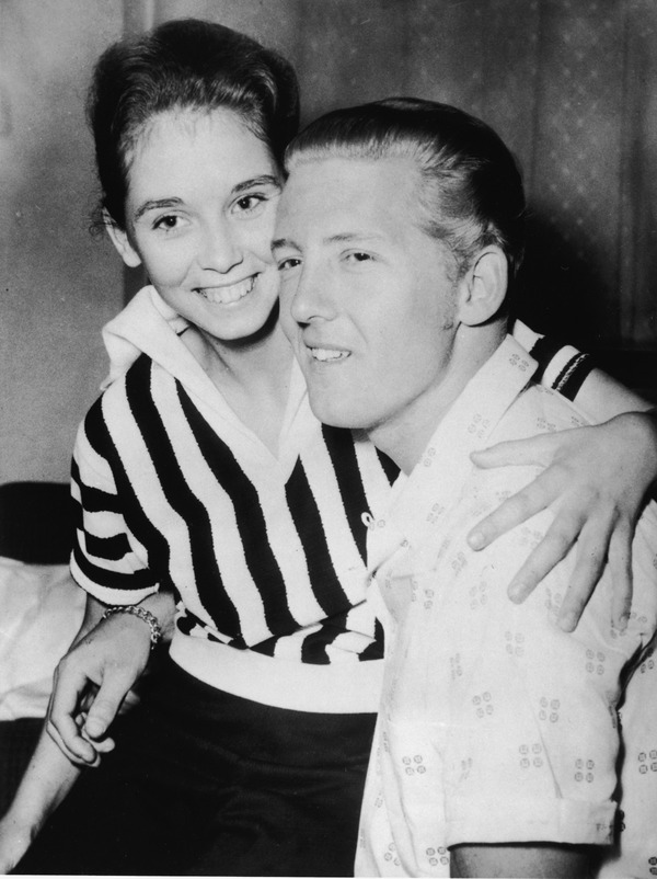 Jerry Lee Lewis and his underaged wife Myra