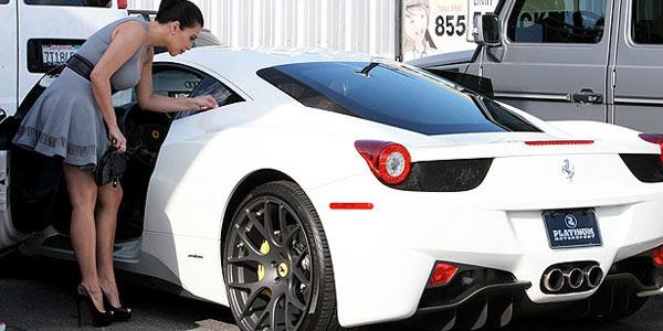 Kim Kardashian car