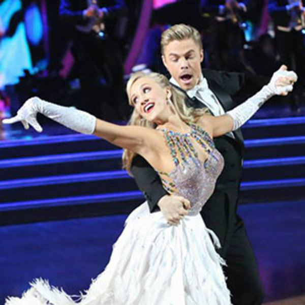 Nastia Liukin and Derek Hough in DWTS