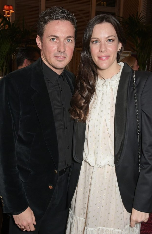 Liv Tyler and Dave Gardner