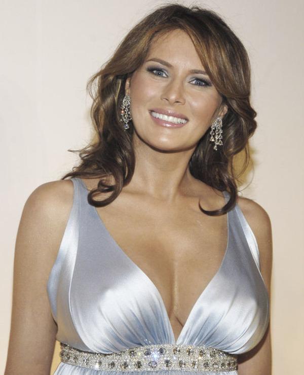Donald Trump trophy wife Melania Trump