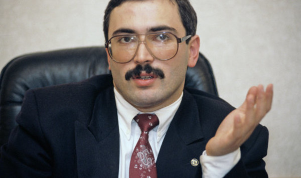 Mikhail Khodorkovsky in his 40-s
