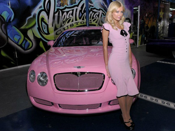 Paris Hilton Bentley Continental
