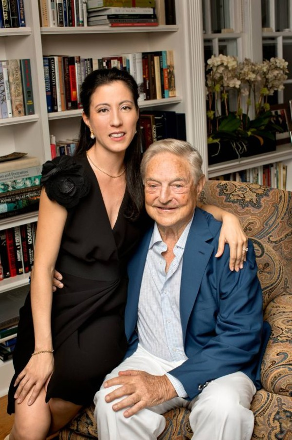 Tamiko Bolton and George Soros