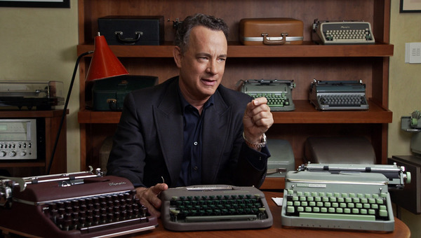 Tom Hanks collection of typewriters