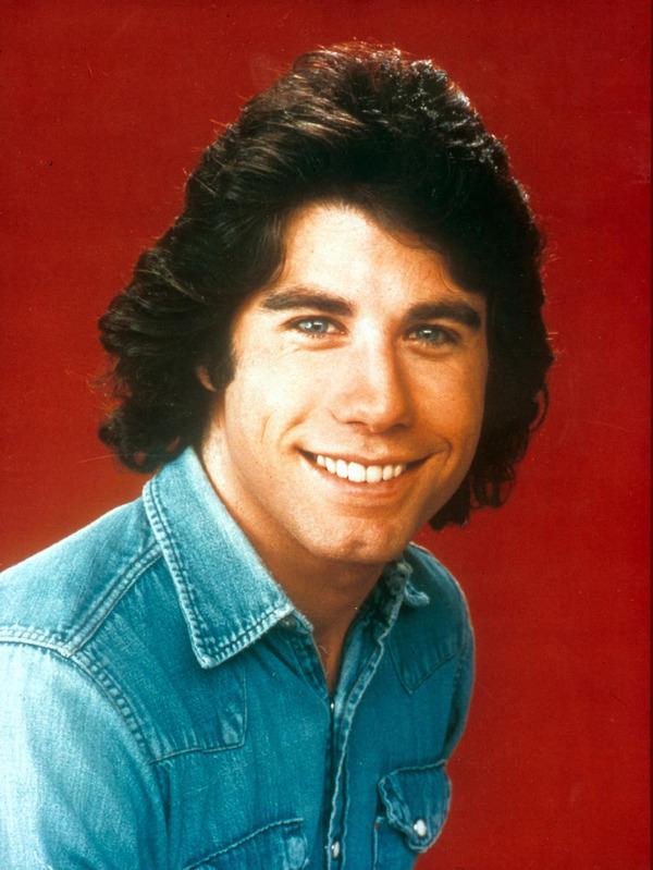 John Travolta young