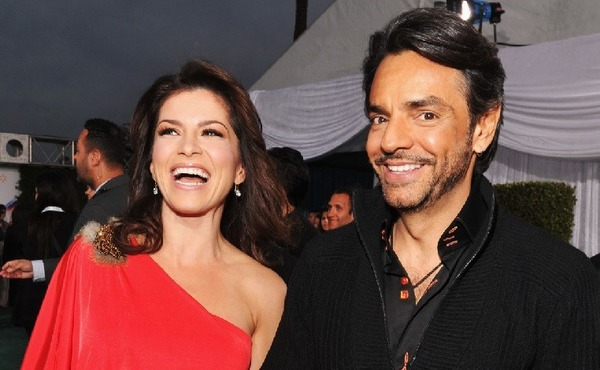Eugenio Derbez and his wife Alessandra Rosaldo