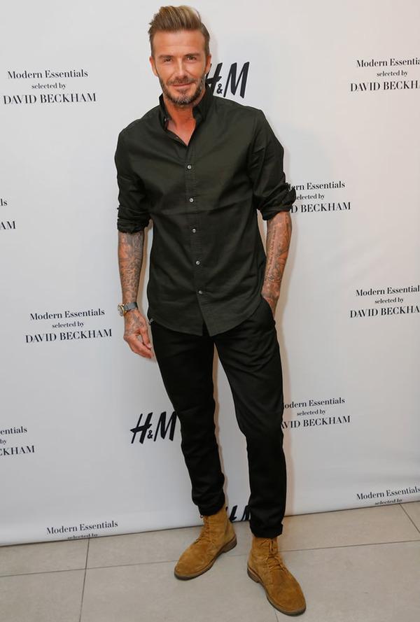 David Beckham car park