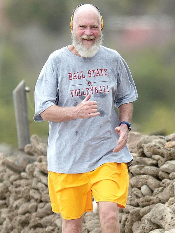 David Letterman after his retirement