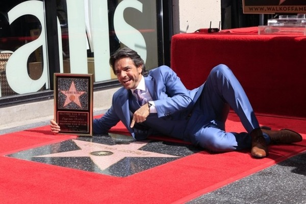 Eugenio Derbez way on top