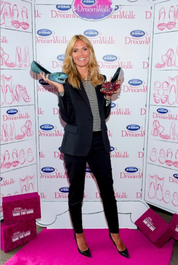 Heidi Klum collection of shoes