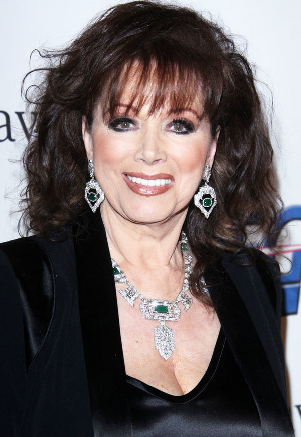 How rich was Jackie Collins?