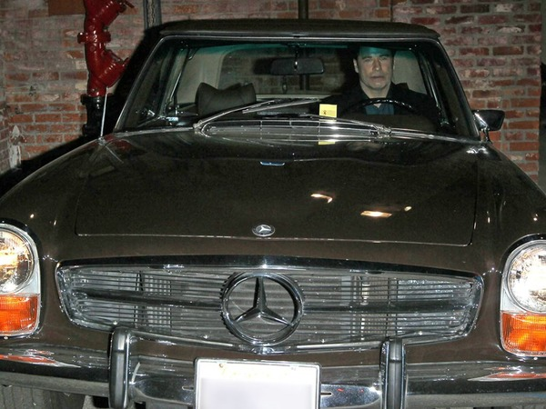 John Travolta car