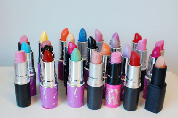 Catherine Deneuve collection of lipsticks